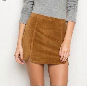 Brandy Melville Skirts - BRANDY MELVILLE   Suede Raquel skirt